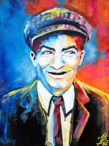 """""""Monsieur Louis"""", 2012, acrylic on canvas, 60x80"""