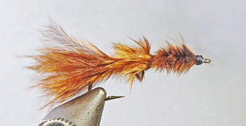 A simple leech fly pattern