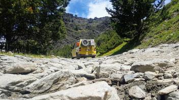 Schmuggler Pfad von Andorra nach Spanien