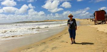 Strand von Barra de Valizas