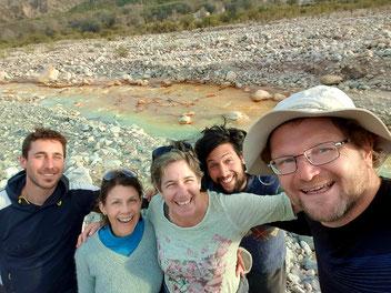 Am Union de los Rios: Franco, Leonor, Nicole, Matias, Pit