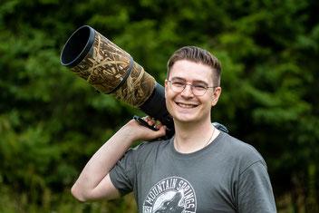 Marco Ritter bei der Makrofotografie
