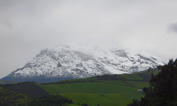 Der Chimborazo, 6267 m