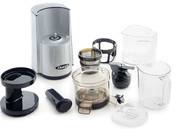 Lieferumfang Omega 843 Juicer