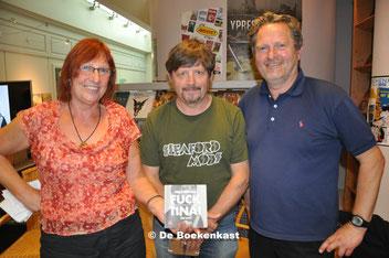 Trees Heirbaut, Nigel Williams en Jef Maes