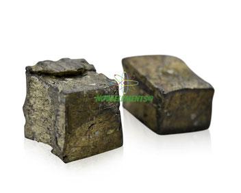 ytterbium metal, ytterbium ingots, ytterbium chunks, ytterbium acrylic cube, ytterbium cube, ytterbium rod, ytterbium metal for element collection