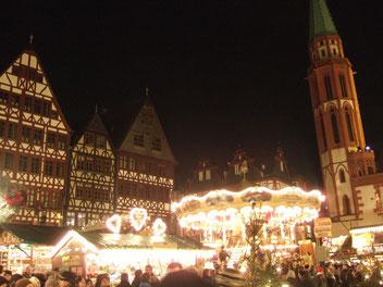 marché Noël Francfort Weihnachtsmarkt Frankfurt