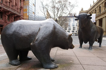Bull BEar bourse Francfort