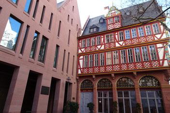 Neue Altstadt Frankfurt Goldene Waage Stadthaus