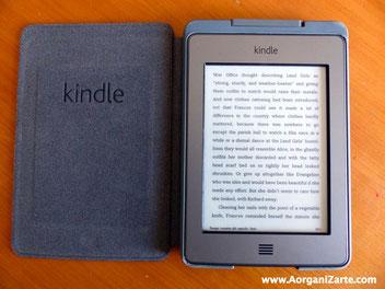 Con el libro electrónico ahorras espacio en tus estanterías - AorganiZarte