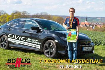 Dank Honda Bohlig entspannt und sicher zum  Wettkampf (Foto: Philipp Pohle)