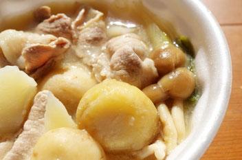 芋煮 東北の「へそ」三県交流まつり