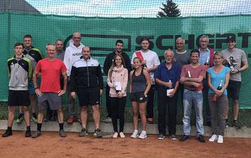 Teilnehmer Endspiele Haupt und Nebenrunde