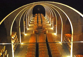 Cave de la bodega Pago de los Capellanos