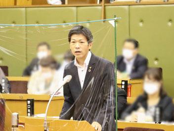 6月定例月議会 第2日一般質問に登壇しました(2021/6/18)ばんしょう映仁