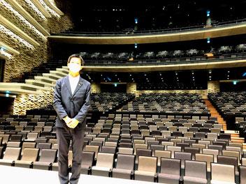 枚方市総合文化芸術センター竣工見学会(2021/7/27)ばんしょう映仁
