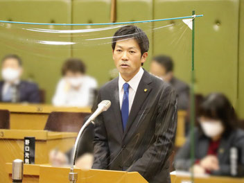 枚方市議会 代表質問(2021/3/5)ばんしょう映仁