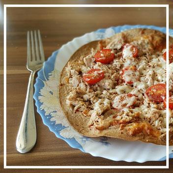 Thunfisch-Pizza
