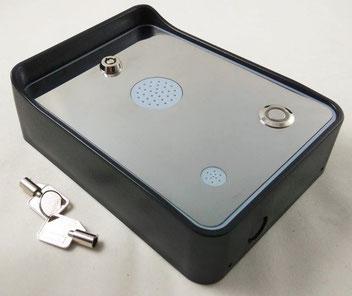 INT01GSM  Sistema de intercomunicador de audio GSM  GSM- inalámbrico con alarma y sistema inalámbrico de acceso de puertas, para un numero de teléfono, puede abrir puertas, portones, plumas, talanqueras