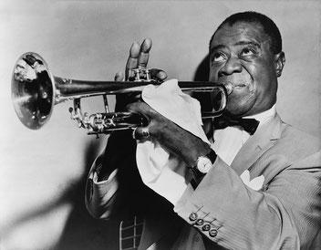 実質的なジャズの創始者、ルイ・アームストロング