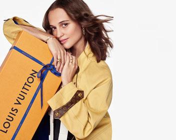 Publicité Louis Vuitton avec Alicia Vikander