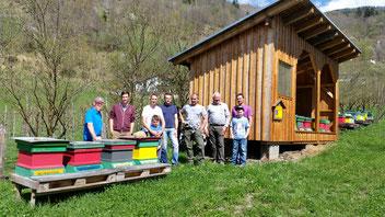 Jungimkerausbildung beim Bienenzuchtverein Malta