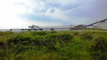 Kalkgewinnung am Glatved Strand