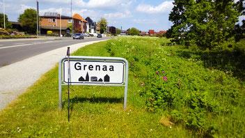 Grenaa ist das Ziel meiner Dänemark-Tour