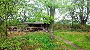 Shelter südlich von Baekke