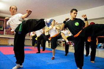 In der Kampfkunst Kung Fu können Schüler in unserer Kung Fu Schule viele Inhalte erlernen.