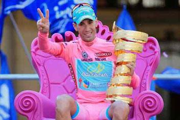 Il successo al Giro d'Italia nel 2013
