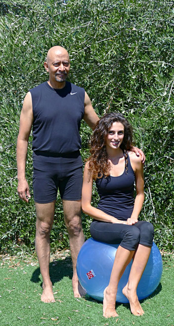 Il Maestro Ranil e Simonetta Garofalo