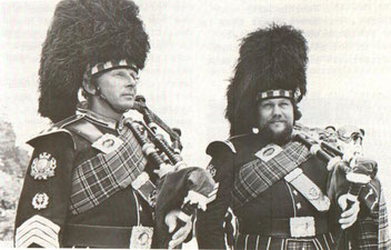 Roman Kaeslin und Hans Reber gründen die Happy-Pipers 1973.