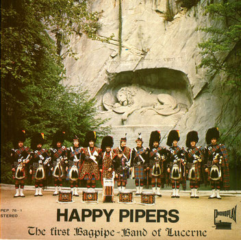 Single der Happy-Pipers von 1976