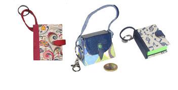 Anhänger /Schlüsselanhänger / Taschenanhänger / Mini Handtaschen / Haftnotizen / Mini Hefte / Passfotos