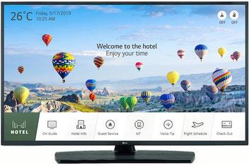 LG Hotel TV 4K Ultra HD für Hotel TV Anlage