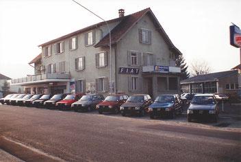 Südwest-Garage Wohlen AG 80er Jahre
