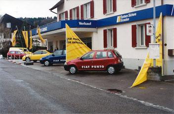 Südwest-Garage Wohlen AG Fiat Händler 90er Jahre