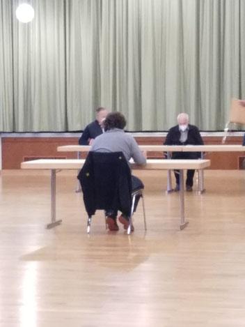 Gemeindevertreter Nicolas Hormel im Dornburger Gemeindeparlament