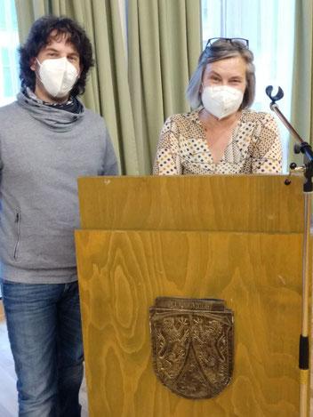 links: Nicolas Hormel; rechts: Diana Jordan