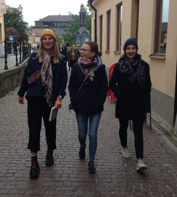 Stadttour mit Hannah, Pauline und Madeleine
