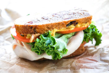 Sandwich Roggen Brot Vollkorn