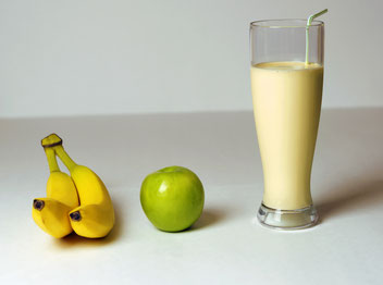 Proteinshake Protein Eiweißshake Banane