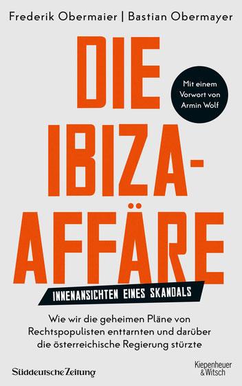 Das Cover des Buches die Ibiza Affaire.