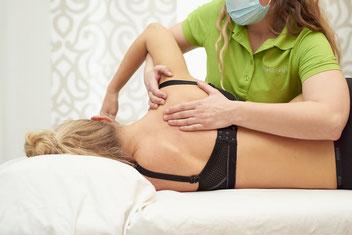 Physiotherapie bei Schulterschmerzen