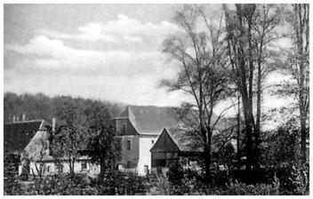 Die Stadtmühle. Ansicht um 1910