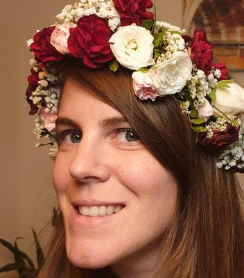 Cette photo représente Mathilde Fournier, décoratrice de mariage, baby shower ou anniversaires enfants sur la région Occitanie