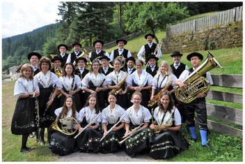 Die B&T beim Kreistrachtentreffen 2014 in Gutach