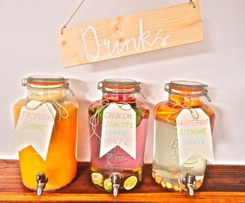 Getränkespender, Saftspender, Saft, Smoothies-fruchtbar mobil