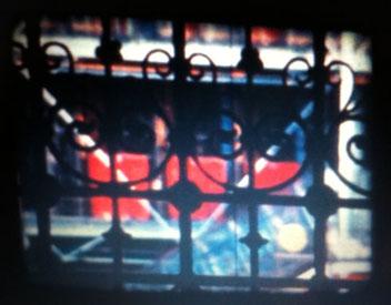 Brion Gysin: Beaubourg dernier musée, AXE Film, 1976 (still) Guy Schraenen éditeur